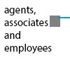 Agents, Associates and Employees Section